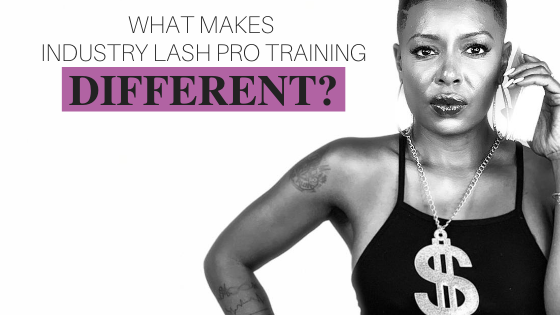 Industry Lash Pro Training